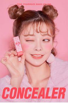 Kawaii Makeup, Cute Makeup, Beauty Makeup, Makeup Looks, Hair Makeup, Hair Beauty, Korean Makeup Brands, Korean Makeup Tips, Asian Makeup