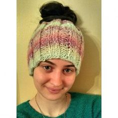 80de0a48481 Tame Your Hair with a Messy Bun Hat