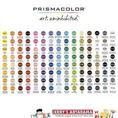 'Prismacolor Premier Colored Pencil Sets...!' (via Jerry's Artarama)