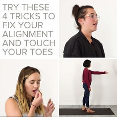 4 Tricks To Touch Your Toes