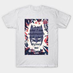 Batman Hero Within T-Shirt - Batman T-Shirt is $13 today at TeePublic! Batman Hero, Batman T Shirt, Dc Comics T Shirts, Warriors T Shirt, Diana, Print Design, Batman Stuff, Wonder Woman, Mens Tops