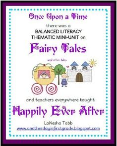 Another Glorious Day : Fairy Tale Unit Part ONE