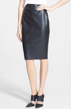 Rebecca taylor nailhead jersey dress at wish boutique for Define faux leather