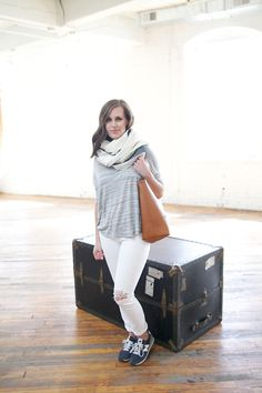 jillgg's good life (for less) | a style blog: my everyday style: white and grey!