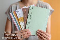 DIY Japanese book binding KIT in SPANISH by MIRABETnotebooks
