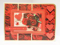 5 x 7 card made by Sue Dinsdale using Kanban Everyday Collection
