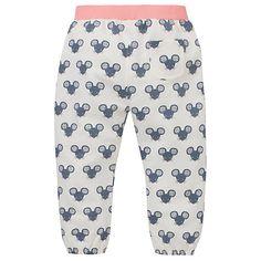 Buy John Lewis Mouse Print Harem Trousers, White/Grey Online at johnlewis.com