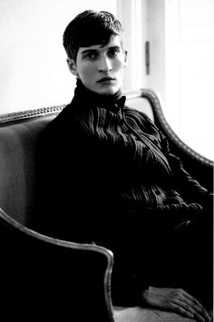 Matvey Lykov in Forever Young, photographed by David Armstrong for L'Officiel Hommes November 2012