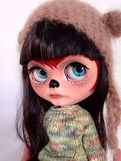 Hey, I found this really awesome Etsy listing at https://www.etsy.com/listing/173929544/blythe-custom-nanouk-ooak-doll