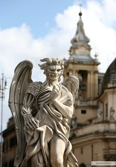 ангелы и демоны статуя - Поиск в Google