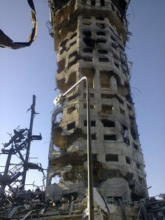Donetsk Airport in Ukraine. Destroyed in the Russian invasion.