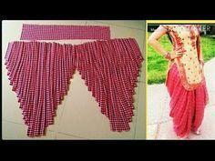 मशहूर डांसर सपना चौधरी की हैवी पटियाला सलवार बनाना सीखे heavy patiyala salwar - YouTube Girls Dresses Sewing, Dress Sewing Patterns, Floral Print Gowns, Floral Prints, Diy Circle Skirt, Kids Art Galleries, Patiala Dress, Salwar Pattern, Casual Indian Fashion