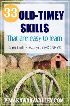 33 Old Fashioned Traditional Skills that are Easy to Learn + Save Money Homestead Survival, Survival Skills, Survival Tips, Camping Survival, Emergency Preparedness, Gardening For Beginners, Gardening Tips, Urban Homesteading, Small Farm