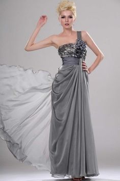 Wishesbridal Military Ball Dress With Flower