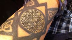 Cool tattoo idea.  Make your own at Snotes.com
