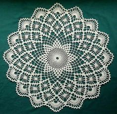 Crochet wipes great choice for your home decor – Woman's Portal Crochet Tablecloth Pattern, Free Crochet Doily Patterns, Crochet Circles, Crochet Mandala, Crochet Motif, Thread Crochet, Crochet Crafts, Crochet Stitches, Crochet Projects