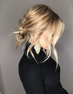 Adorable Updo Hairstyles Ideas for Spring Season 2018