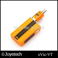 Original Joyetech eVic-VT 5000mah Evic VT Temperature Control Mod with eGo ONE Mega Atomizer DHL  UPS free 10pcs/lot  DescriptionJoyetech eVic- VT is a uniquely different vaping mod, 60W power and 5000mah, comes with the new cutting edge technologyof temperature control, supports VT-Ti (Titanium), VT-Ni (Nickel 20  #Vape http://vaper.ga/bl