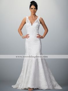 ed47c1b45c8 elegant lace all over bridal gown BC476 Used Wedding Dresses