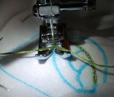 How to Chain Stitch with your Sewing Machine – Embroidered Infant Onesie