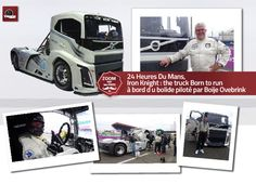 Iron Knight : the truck Born to run 24 Heures Du Mans, une légende sur le circuit : à bord de l'IRON KNIGHT piloté par Boije Ovebrink http://www.truckeditions.com/Iron-Knight-the-truck-Born-to-run.html#.WCnjb9z6a3E