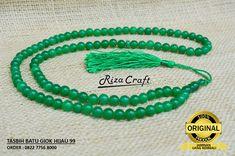 Jual tasbih giok hijau asli, Jual tasbih giok hijau terbaik, Jual tasbih giok hijau harga terjangkau, Jual tasbih giok hijau murah, Jual tasbih giok hijau ukuran butiran 8 mm isi 99 butir, Jual tasbih giok hijau yang cocok dipakai pria dan wanita.  Info dan Pembelian SMS/ WA : 082.2.7-75-68000 (Bpk M. Riza)