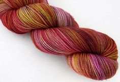 Santorini Sunset - Softwear - 80SW Meino/ 20Nylon - Fingering Weight -  400yds
