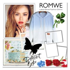 """""""Romwe"""" by zearalenon ❤ liked on Polyvore"""