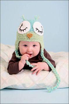 Owl hat of sweetness