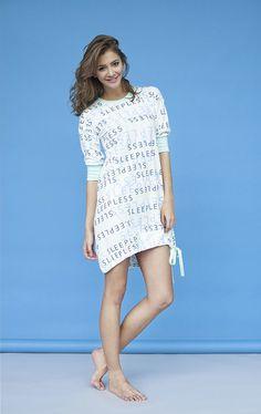Koszulka Ribbon dress - 100% kobiecości - sleeplessinWarsaw - Bielizna nocna