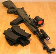 Upgraded SKS 7.62X39MM, 30RND Magazine fed  Carbine