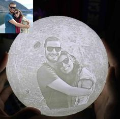 Personalized Photo Moon Lamp Customized Gifts For Boyfriend, Valentines Gifts For Boyfriend, Boyfriend Gifts, Valentine Gifts, Christmas Gifts For Couples, Unique Christmas Gifts, Gifts For Family, Bf Gifts, Couple Gifts