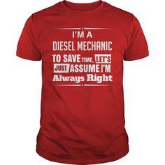 I Am A DIESEL MECHANIC