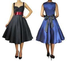 Retro Satin lace dress