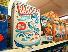 Banko's! hilarious. #eattherich