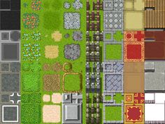 RPG Maker VX  ModernRTP TileA2 by painhurt.deviantart.com on @deviantART