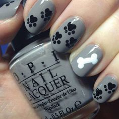 Get your paws all over this purrfect pet nail art.