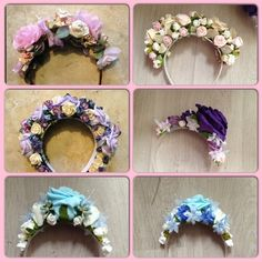 Lana Del Rey Flower Crown made in any colour or style on Etsy, $25.12