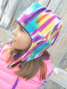 A personal favorite from my Etsy shop https://www.etsy.com/listing/249037311/new-kids-fleece-winter-hat-with-chin