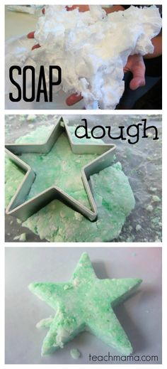 SUPER indoor activity for cold winter days. . . or leave the food coloring out and call it SNOW DOUGH!  |all you need is 1 ingredient = awesome from @amy mascott @teachmama
