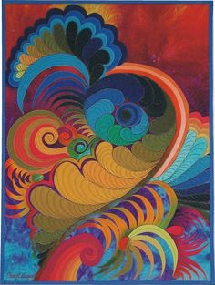 This is one of my favorite quilt artist