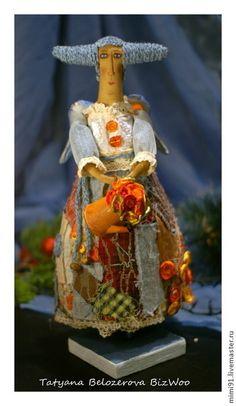 Bonecos colecionáveis artesanais.  Mestres Fair - handmade fadas Patchwork.  Handmade.