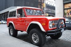 67 Ford Bronco. Most awesomeness.