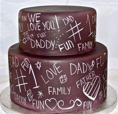 #1 Dad cake