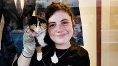Summer Jackson and her cat share a common start to life – alone and without a family they wound up living on the streets.