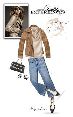 """Quality not quantity"" by anne-977 ❤ liked on Polyvore featuring Abercrombie & Fitch, Lanvin and Seychelles"
