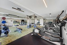 Looking to get in shape this year? Check out our #fitness center! Just one of the many amenities here at #ThePreserveatWoodfield #Apartments #FindYourHome