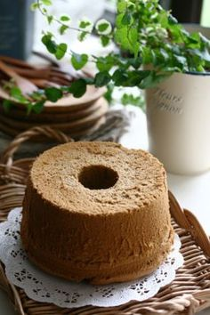 「少し大人のコーヒーシフォン」グーテaki | お菓子・パンのレシピや作り方【corecle*コレクル】