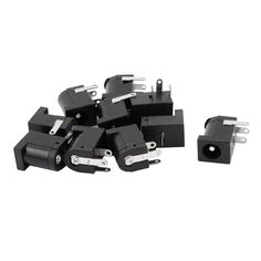 10pcs 3 Pin PCB Mount 5.5x2.1mm Female DC Power Jack Socket Connector. Yesterday's price: US $0.71 (0.59 EUR). Today's price: US $0.62 (0.51 EUR). Discount: 13%.