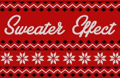 Christmas Sweater Effect by Designer Toolbox on @creativemarket